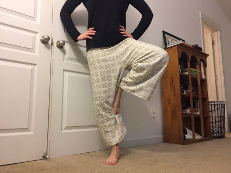 Homemade Organic Pants